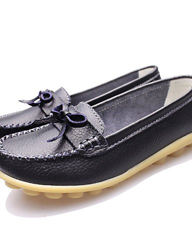 comfort Marrón Bermellón Cn40 Uk6 mocasines Cn41 De Brown Eu39 us9 Orange negro Zapatos 5 Plano Uk7 Eu40 us8 Mujer Caqui tacón cuero casual Naranja Blanco Zq Amarillo 5 xpXq6Av4