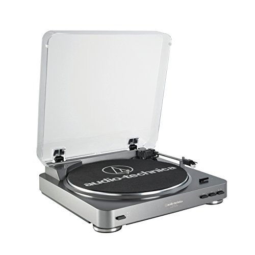 Audio-Technica AT-LP60-USB Fully Automatic Belt-Drive Stereo Turntable (USB & Analog) (Turntable Preamp With Usb compare prices)