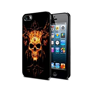 meilz aiaiCase Cover Silicone Iphone 5 5s Skull Ghosts Sk06 Halloween Protection Designmeilz aiai