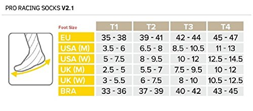 Chaussettes Run Racing Compressport Pro Hi V2 Blanc rose ZznFXfOq