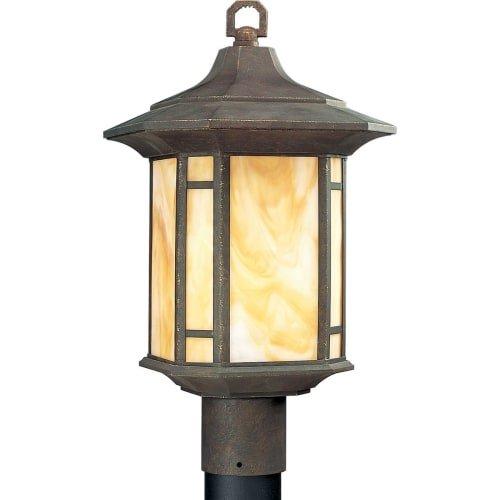 Arts and Crafts 1 Light Post Lantern by Progress Lighting