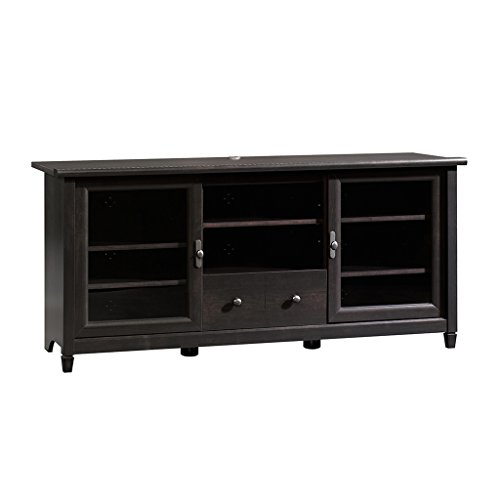 41I2PQ8CpsL - Sauder Edge Water Entertainment Credenza, Estate Black