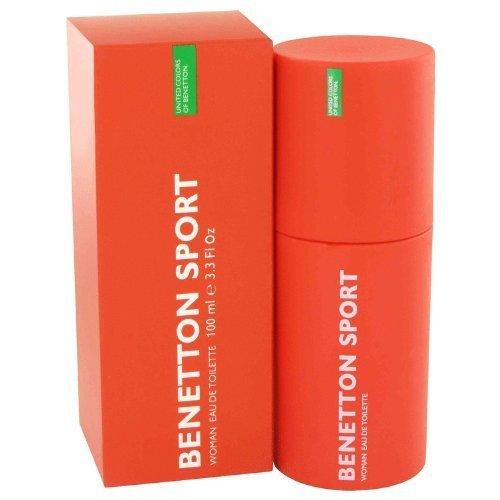 Deodorant Spray Benetton - BENETTON SPORT by Benetton Eau De Toilette Spray 3.3 oz