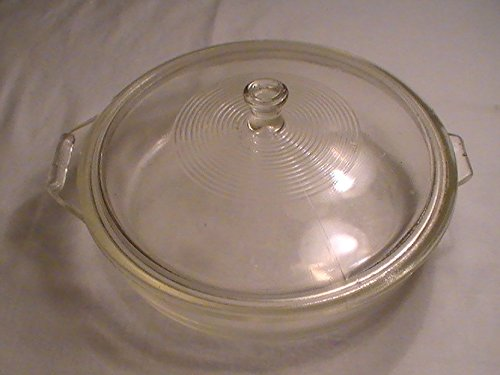 Vintage Sears McKee Flamex Stovetop Glass 9