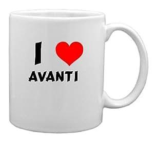I Love Avanti Coffee Mug (first name/surname/nickname)