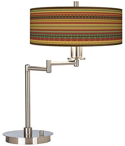 Southwest Desert Giclee CFL Swing Arm Desk Lamp - Giclee Gallery