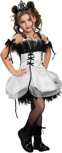 [Drama Queens Gothic Ballerina Costume (Size Small)] (Gothic Ballerina Halloween Costumes)