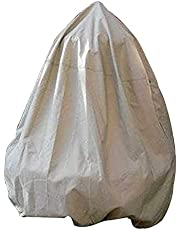 """Garden Fountain Cover, Durable and Waterproof Polyester Cover Columnar Fountain Pond Cover Protection with Drawstring Locking, 36""""x42""""/91X107cm"""