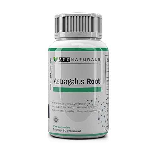 Astragalus Root Capsules to Support Immune Defense, Energy Increases Vegan Astragalus Root Extract for Optimal Immune Support