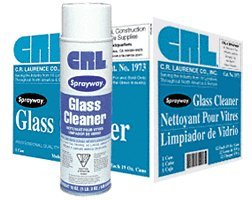 Sprayway 1973 Glass Cleaner - 12 Cans - Glass Cans Cleaner Case 12