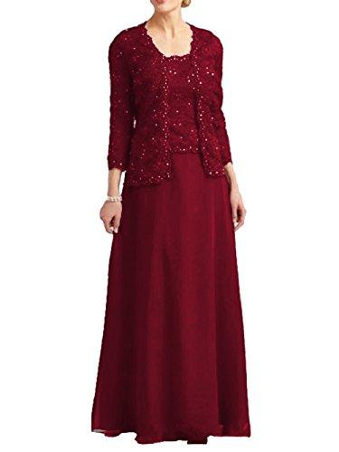 formal beaded jacket dress - 4