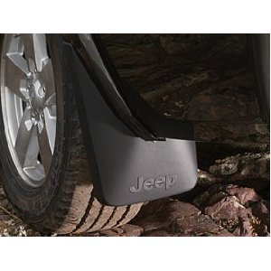 Jeep Commander Deluxe Molded Splash Guards Front & Rear (Flaps Mud Jeep Commander)
