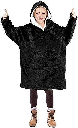Blanket Hoodie for Kids, Oversized Hoodie Sweatshirt Blanket, Super Soft Fleece Dressing Gown, Warm Comfortable Hooded…