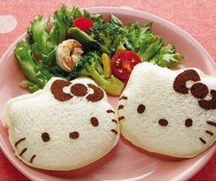 hello kitty bread mold - 3