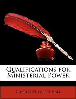 Book Qualifications for Ministerial Power