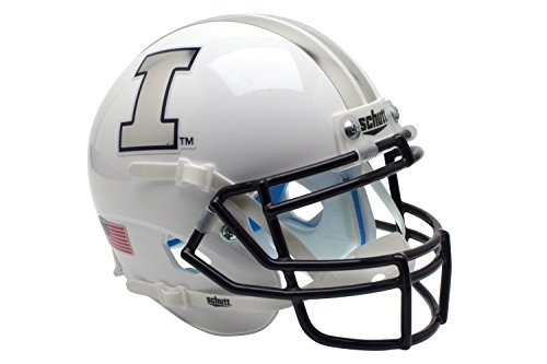 NCAA Illinois Illini Fighting WH Mini Helmet, One Size (Mini Fighting Sports)