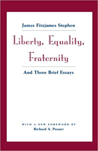 Image result for liberty, equality, and fraternity stephen