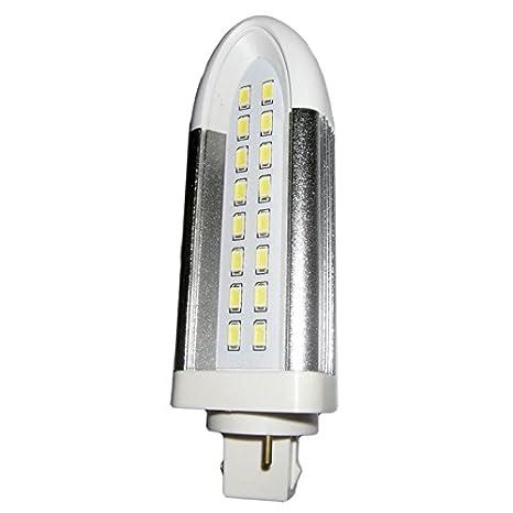 Bombilla PL-C LED 10W G24D Luz neutra 4000K 1200Lm: Amazon.es: Iluminación