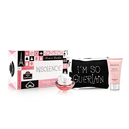 GUERLAIN INSOLENCE EDT 50 ML + BODY LOCION 75 ML + NECESER ...