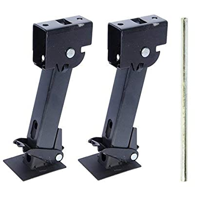 Pair of Telescoping Trailer Stabilizer Jacks(1000lb capacity each) by  Pacific Rim