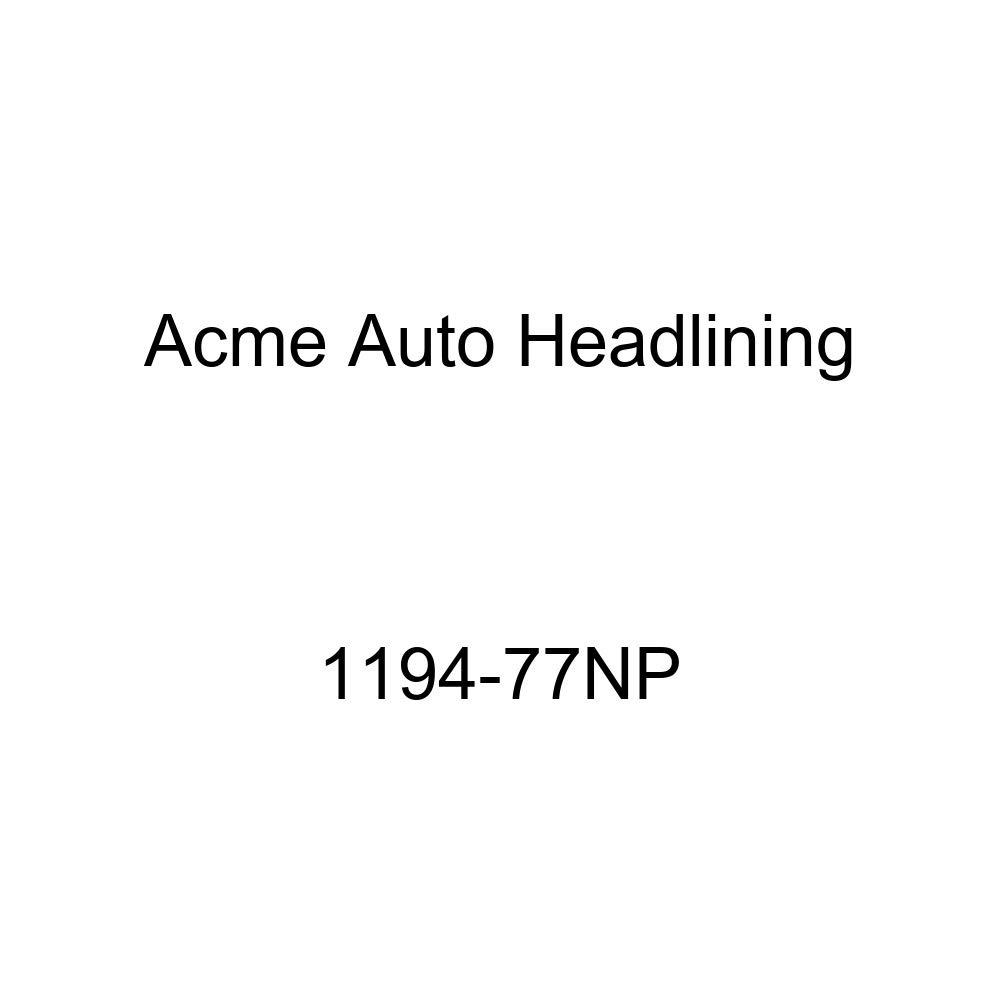 1959-60 Buick Invicta /& Lesabre 2 Door Hardtop 4 Bows Acme Auto Headlining 1194-77NP Ginger Replacement Headliner