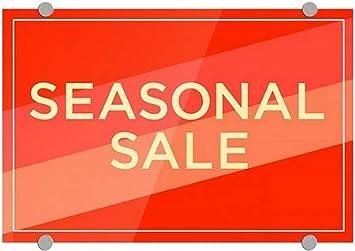 CGSignLab 5-Pack 18x12 Modern Diagonal Premium Brushed Aluminum Sign Seasonal Sale