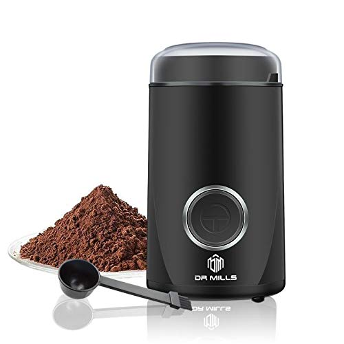DR MILLS DM-7441 Electric Dried Spice and Coffee Grinder, Blade & cup made with SUS304 stianlees steel