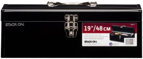 Stack-On SHB-19 19-Inch All-Purpose Tool Steel Tool Box, (All Purpose Tool Box)