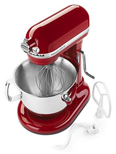 KitchenAid Certified Refurbished RKSM6573ER 6-Qt. Professional Bowl-Lift Stand Mixer - Empire Red