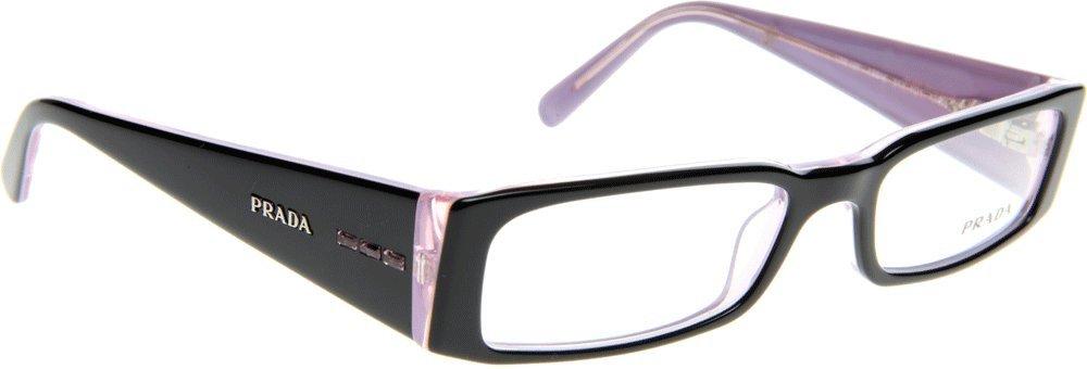 65f079016a74 Eyeglasses Prada PR 10FV 3AX1O1 BLACK/PINK DEMO LENS: Amazon.ca: Shoes &  Handbags