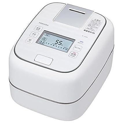 Amazon.com: TOSHIBA Vacuum Pressure IH Jar Rice Cooker RC-10ZWL-W ...
