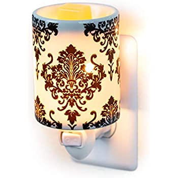 Dawhud Direct Plug-in Fragrance Wax Melt Warmers (Damask)