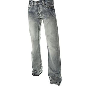 B. Tuff Men's Kirk Boot Cut Jeans