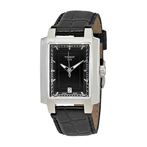 (Tissot Women's T0613101605100 Analog Display Quartz Black Watch)
