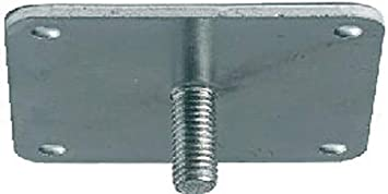 Format Befestigungsplatte M10 80 x 80 mm verzinkt