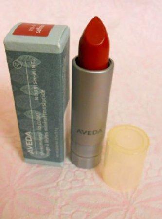 Aveda .12 Fl Oz Sheer Mineral Lip Color Nourish-mint - 702-s Saffron by AVEDA