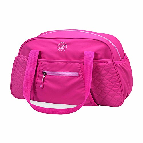 Gaiam Yoga Duffle Bag, Pink