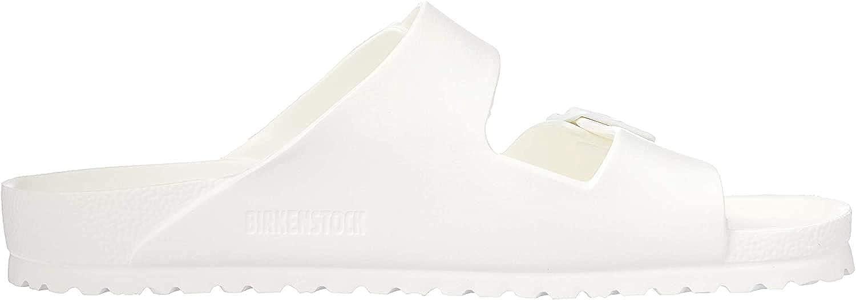 BIRKENSTOCK Men's Arizona EVA Sandals, White