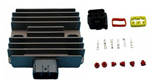 (Tuzliufi Replace Voltage Regulator Rectifier Arctic Cat Kawasaki Yamaha Can-Am Honda Suzuki King Quad 400 450 500 550 650 700 1000 Prowler TBX Thundercat TRV KAF 620 KRF 750 KVF)