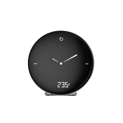 Oregon Scientific RM120 - Reloj Digital con Pantalla Analógica, Despertador (LCD, Blanco,