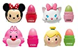 Lip Smacker Disney Tsum Tsum Lip Balm, Minnie/Marie/Cheshire Cat/Tinker Bell, 4 Count