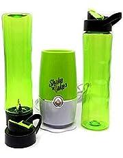 خلاط عصير و بروتين من شيك ان تك فائق القوة و التحضير على الفور مع علبتين رياضية – اخضر