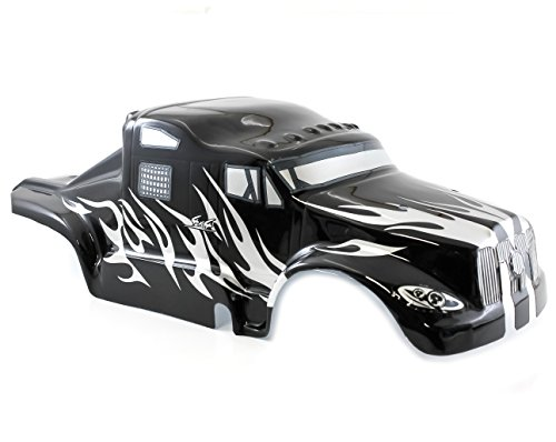 Redcat Racing 1/8 Semi Truck Body Black and Silver BS801-017 Earthquake 3.5 3.0