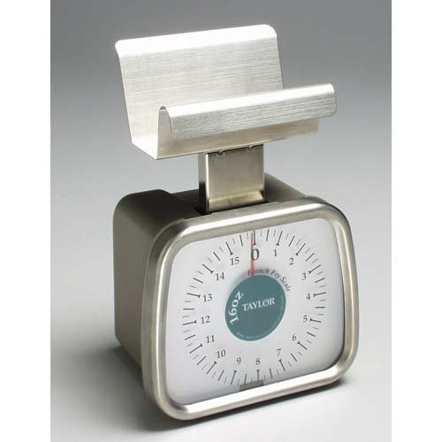 Taylor Precision TP16FF Dial Portion Scale with French Fry Platform by Taylor Precision Products