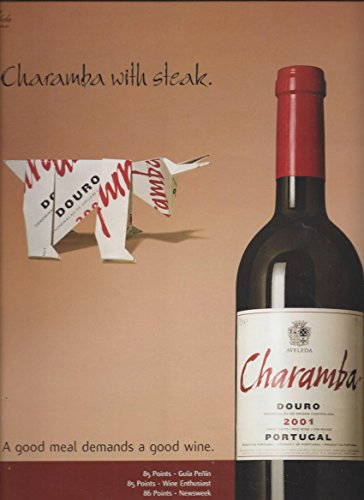 Best-selling MAGAZINE For 2001 Charamba Douro Wine: Good Meal Demands