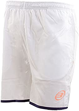 Bull padel PANTALON CORTO BULLPADEL WALDO BLANCO: Amazon.es ...