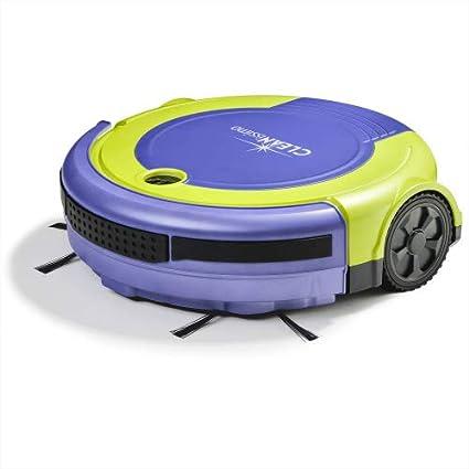 Genius cleanissimo | Robot Aspirador VR10 | Aspirador, detección de obstáculos y escaleras | 80