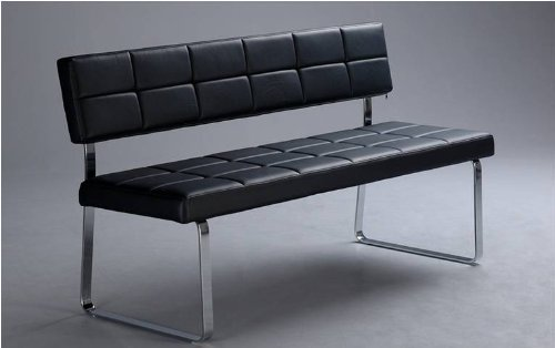 1x Sitzbank mit Rückenlehne Elva4 für Küche oder Wohnzimmer und ...