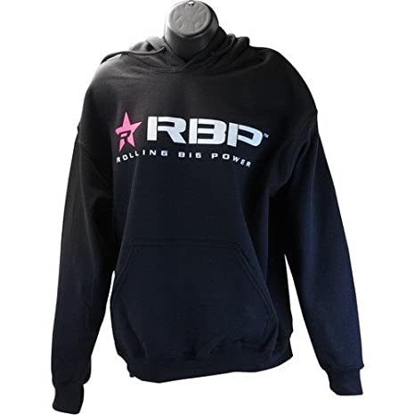 Amazon.com: RBP Mens Hooded Sweatshirt with Silver Logo ...
