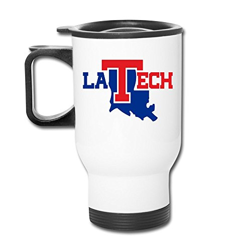 - Ceramic Travel White Cups LOUISIANA TECH BULLDOGS Athletic Team Travel Mugs Stainless Coffee Mugs